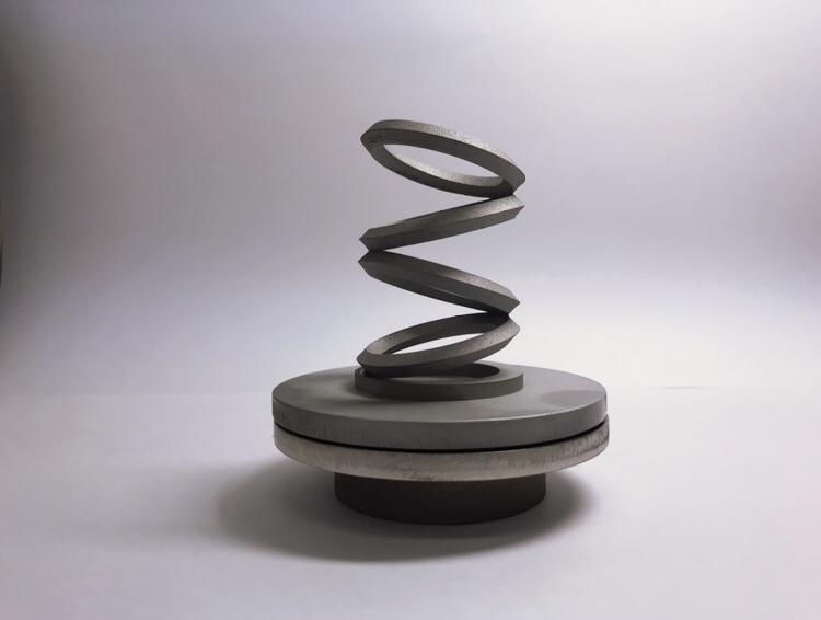 金属3Dプリンターで造形した美術品