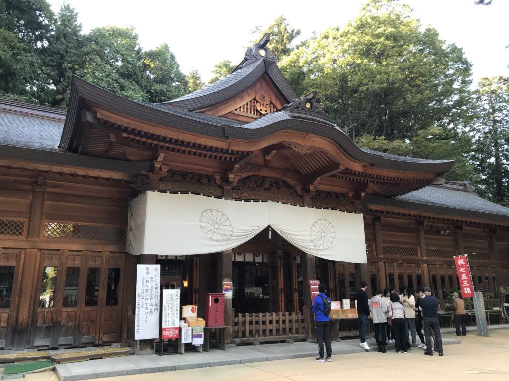 長野県安曇野市穂高神社