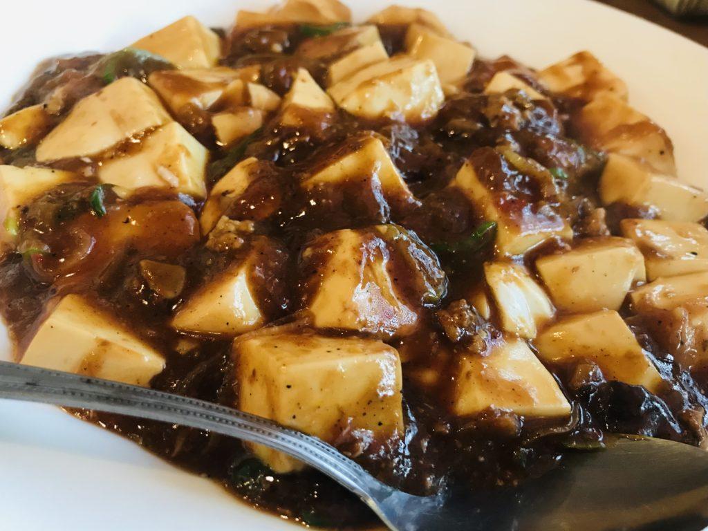 美味しそうな麻婆豆腐の写真