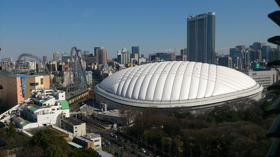 東京ドームを撮影した写真