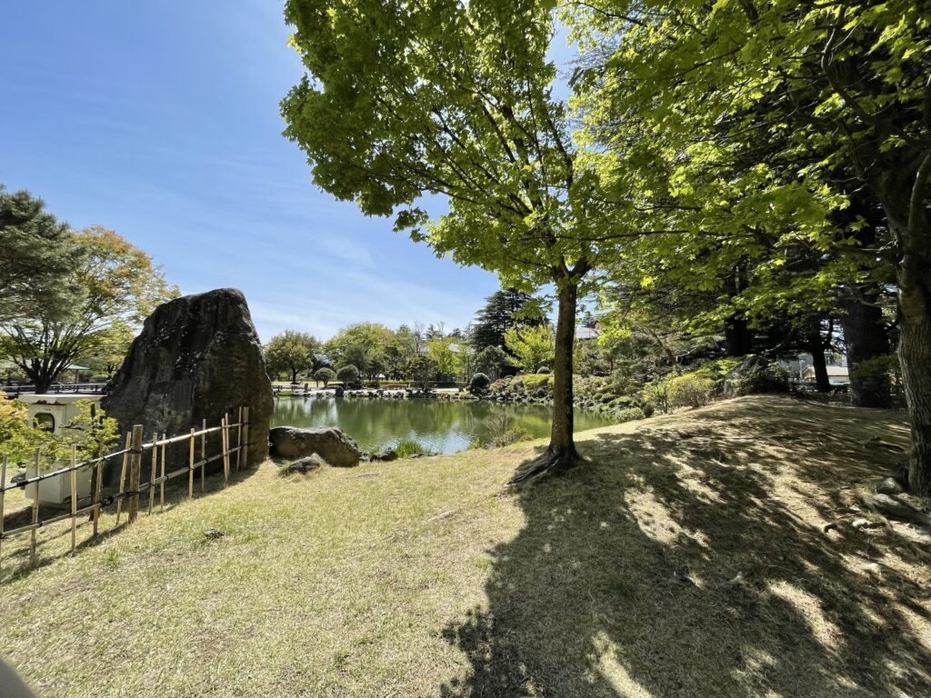 長野県松本市あがたの森公園の写真
